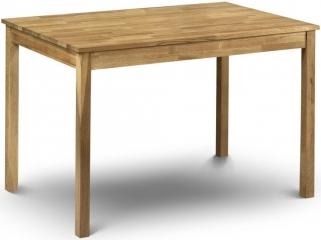 Julian Bowen Coxmoor Oak Dining Table - Rectangular 118cm
