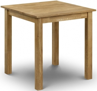 Julian Bowen Coxmoor Oak Dining Table - Square 75cm