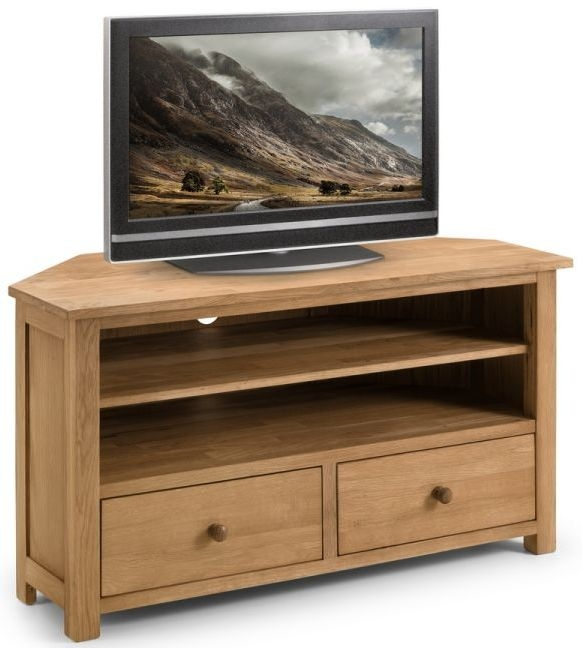Julian Bowen Coxmoor Oak 2 Drawer TV Unit