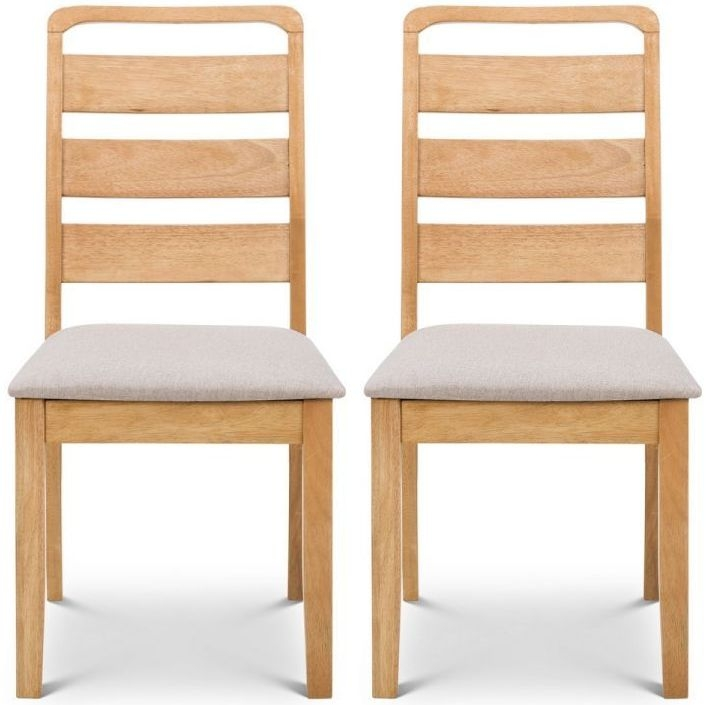 Julian Bowen Lars Oak Dining Chair (Pair)