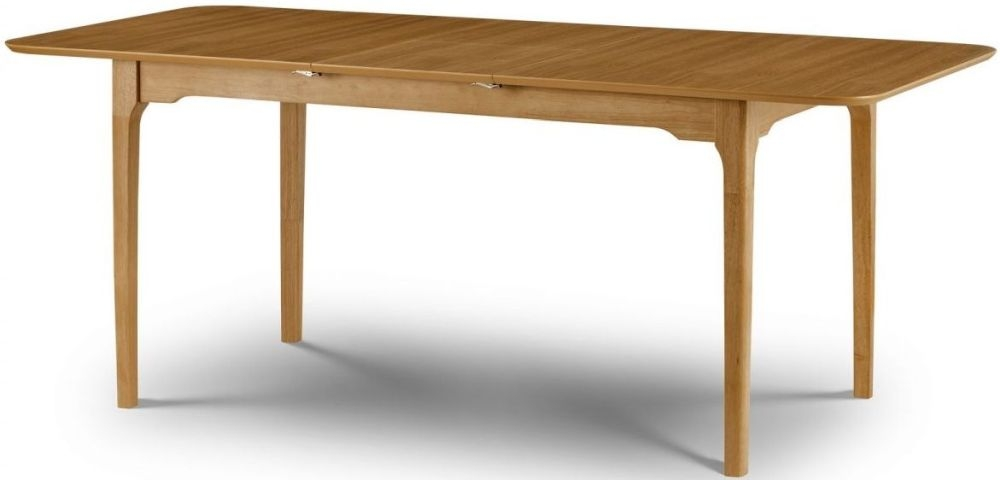 Julian Bowen Ibsen Oak Extending Dining Table
