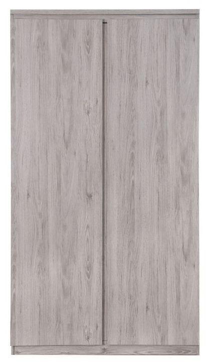 Julian Bowen Jupiter Grey Oak Wardrobe