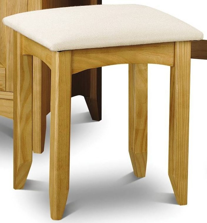 Buy julian bowen kendal pine dressing stool online cfs uk for P a furniture kirkby