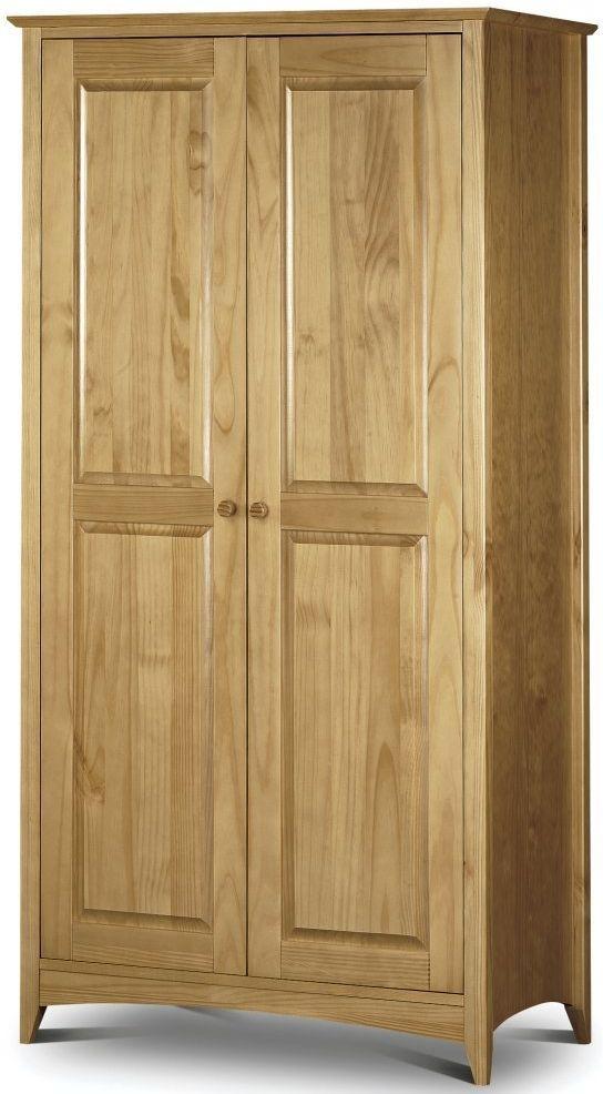 Julian Bowen Kendal Pine Wardrobe - 2 Doors