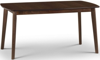Julian Bowen Kensington Walnut Extending Dining Table