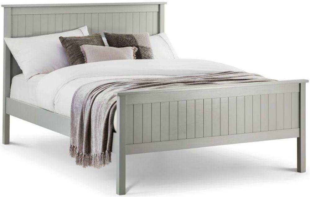 Julian Bowen Maine Dove Grey Bed