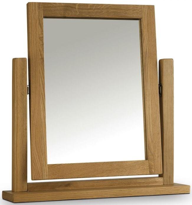 Julian Bowen Marlborough Oak Dressing Table Mirror
