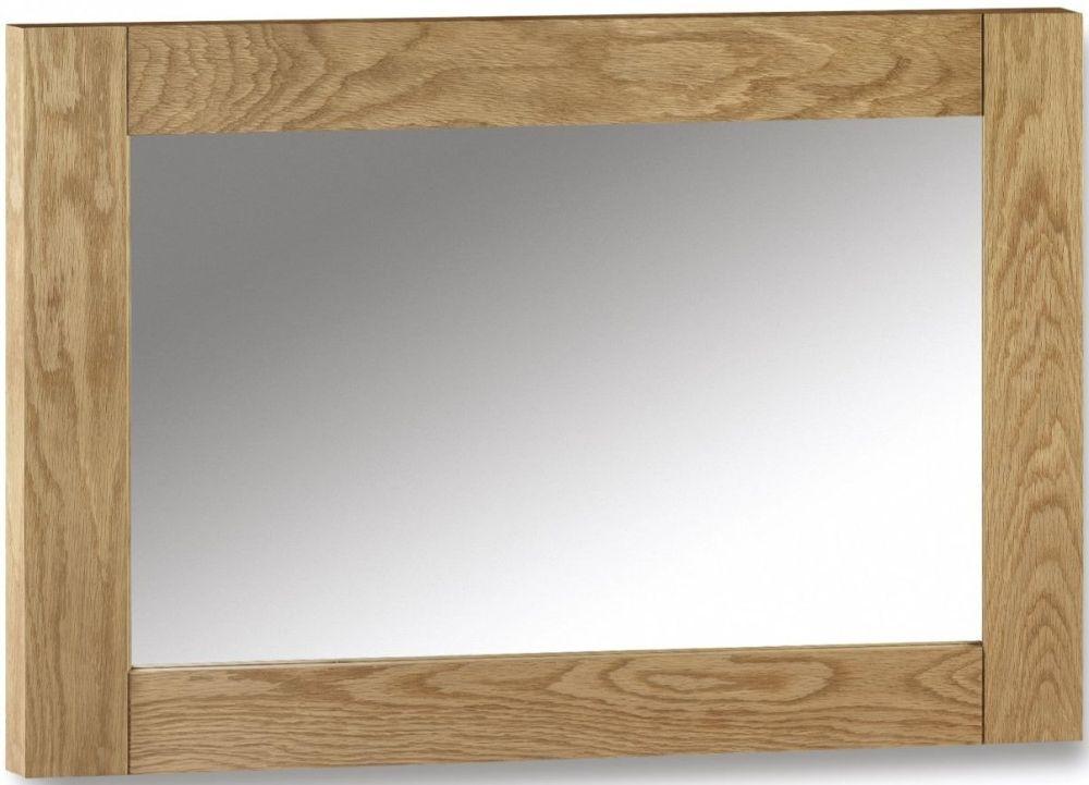 Julian Bowen Marlborough Oak Mirror - Wall