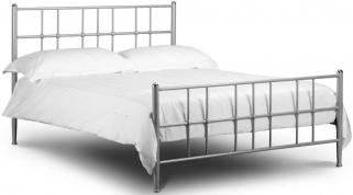 Julian Bowen Braemar Aluminium Metal Bed