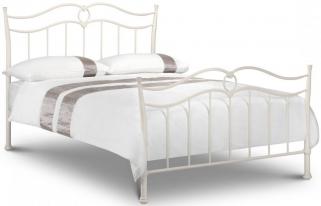 Julian Bowen Katrina White Metal Bed