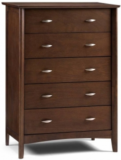 Julian Bowen Minuet Wenge Chest of Drawer - 5 Drawers