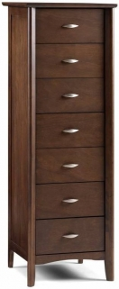 Julian Bowen Minuet Wenge Chest of Drawer - 7 Drawers