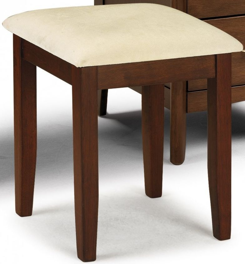Julian bowen minuet wenge dressing stool julian bowen furniture - Dressing wenge ...