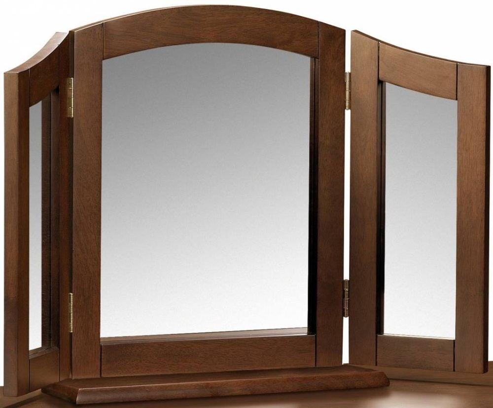Julian Bowen Minuet Wenge Mirror - Triple
