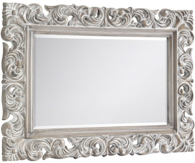Julian Bowen Baroque Rectangular Wall Mirror - 113cm x 81.5cm