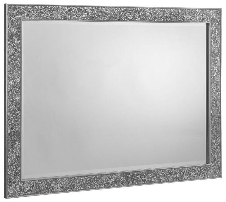 Julian Bowen Staccato Fragment Rectangular Wall Mirror - 110cm x 80cm