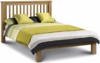 Julian Bowen Amsterdam Oak Bed - Low Foot End