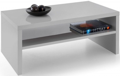 Julian Bowen Metro Grey High Gloss Coffee Table