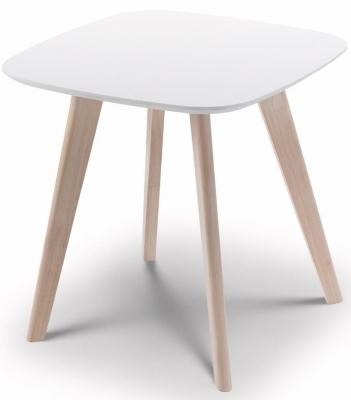 Julian Bowen Casa White Oak Lamp Table