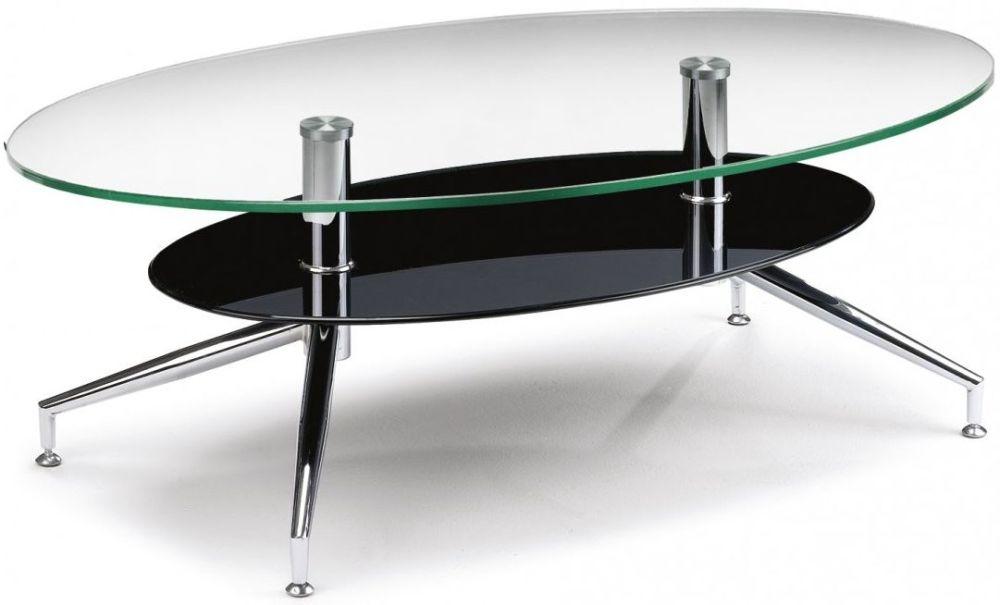 Julian Bowen Oklahoma Glass Top Coffee Table