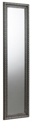 Julian Bowen Allegro Pewter Dress Mirror