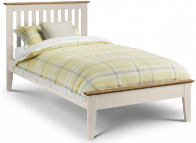 Julian Bowen Salerno Shaker Painted Bed - 3ft Single