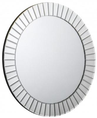 Julian Bowen Sonata Round Wall Mirror - 60cm x 60cm