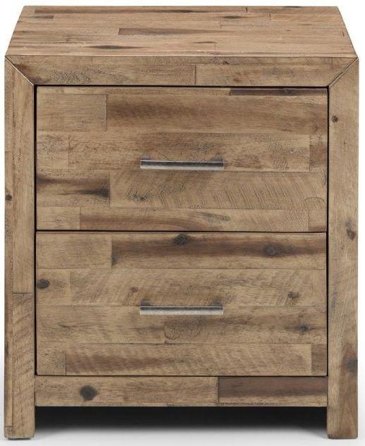 Julian Bowen Hoxton Oak Bedside Cabinet
