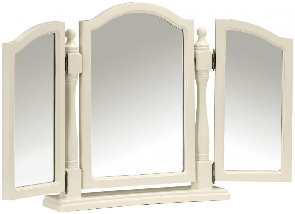 Julian Bowen Josephine Off White Mirror - Triple