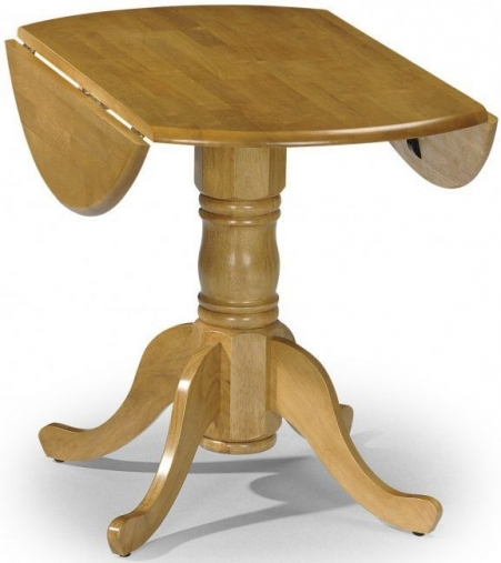 Julian Bowen Dundee Round Drop Leaf Dining Table - 91cm