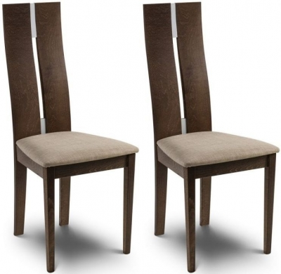 Julian Bowen Cayman Dining Chair  Pair. Buy Julian Bowen Cayman Dining Chair  Pair  Online   CFS UK