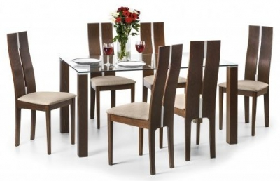 Julian Bowen Cayman Dining Set with 6 Chairs