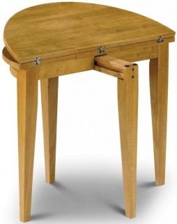 Julian Bowen Consort Round Dining Table - Flip Top