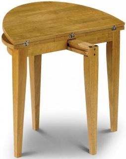 Julian Bowen Consort Round Dining Table - Flip Top