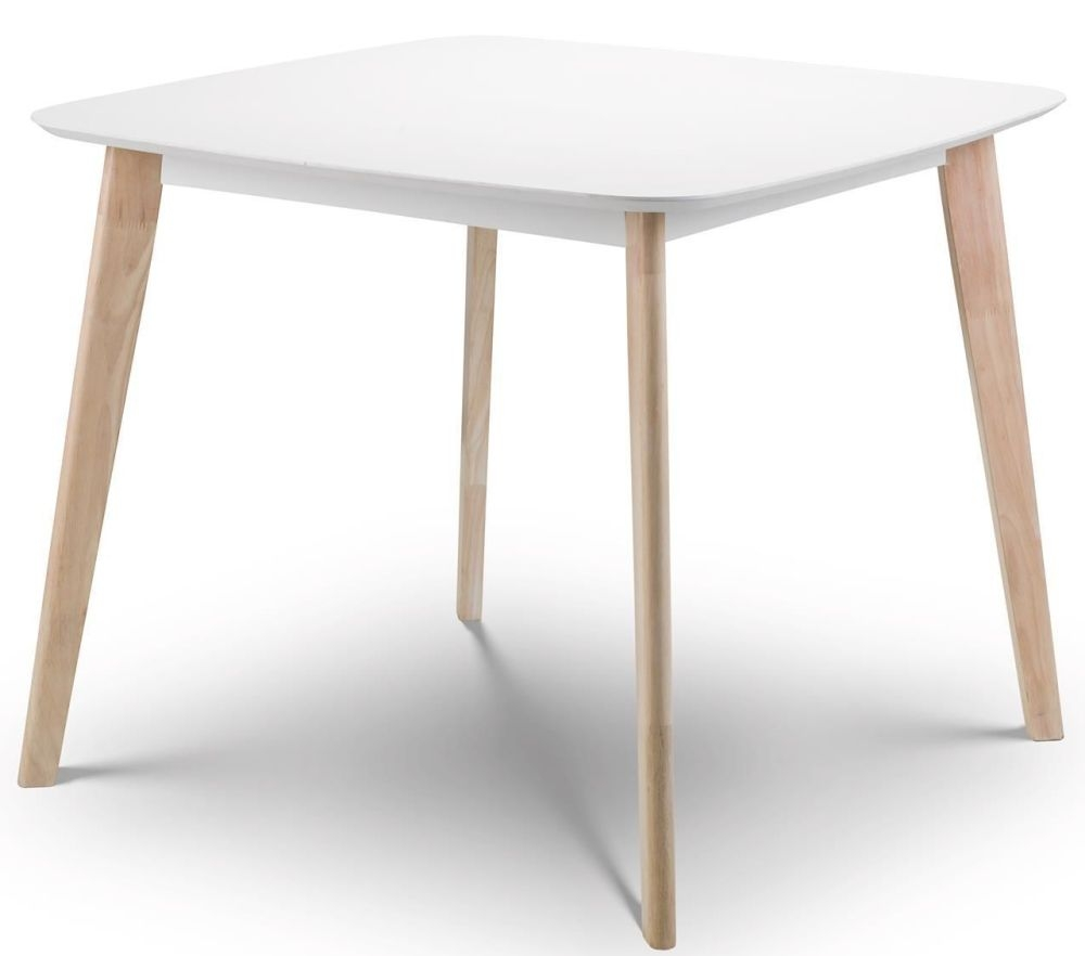 Julian Bowen Casa White Oak Dining Table Julian Bowen Furniture