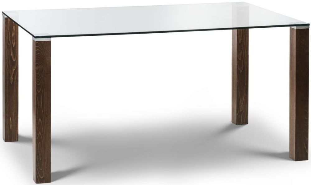 Julian Bowen Cayman Rectangular Fixed Top Dining Table - 150cm