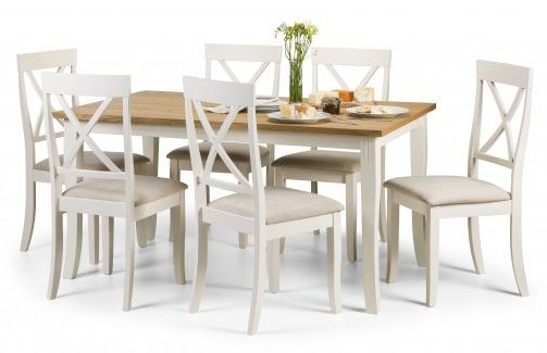 Julian Bowen Davenport Dining Set with 6 Chairs
