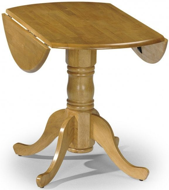 Julian Bowen Dundee Drop Leaf Dining Table - 91cm