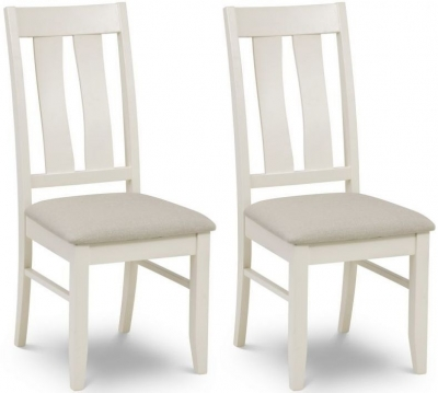 Julian Bowen Pembroke Oak Dining Chair (Pair)