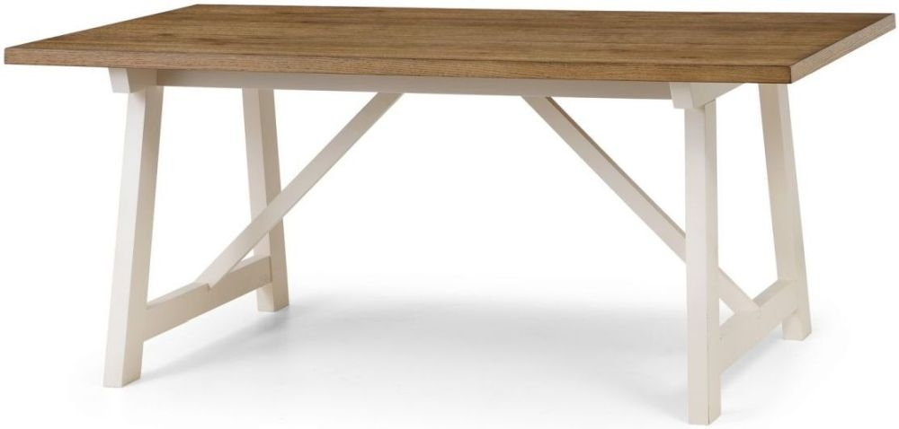 Julian Bowen Pembroke Oak Dining Table