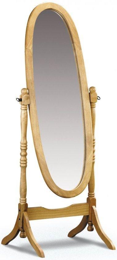 Julian Bowen Pickwick Pine Mirror - Cheval