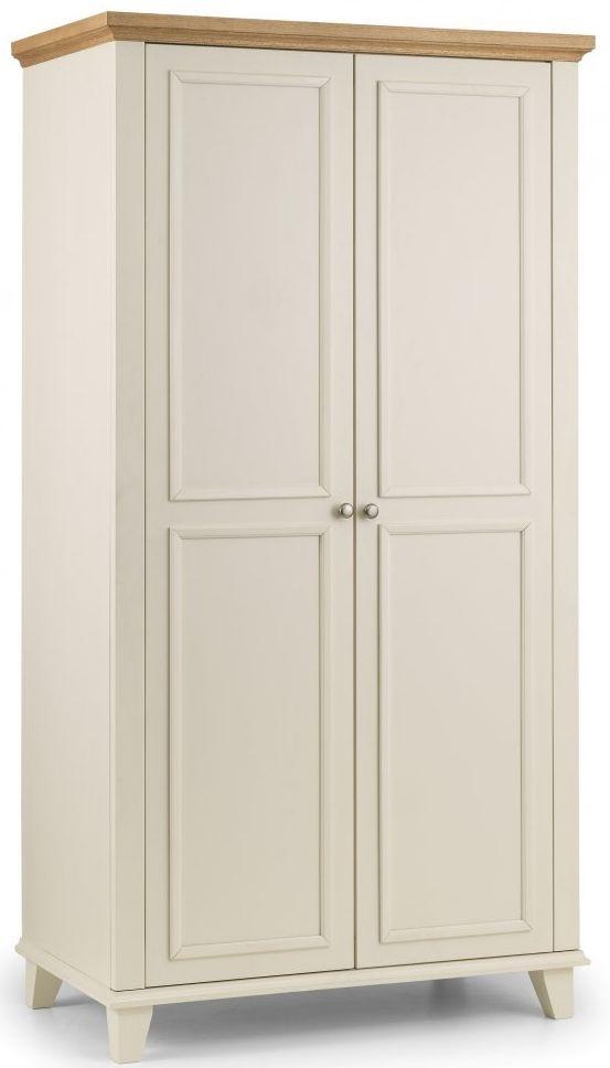 Julian Bowen Portland Wardrobe - 2 Door