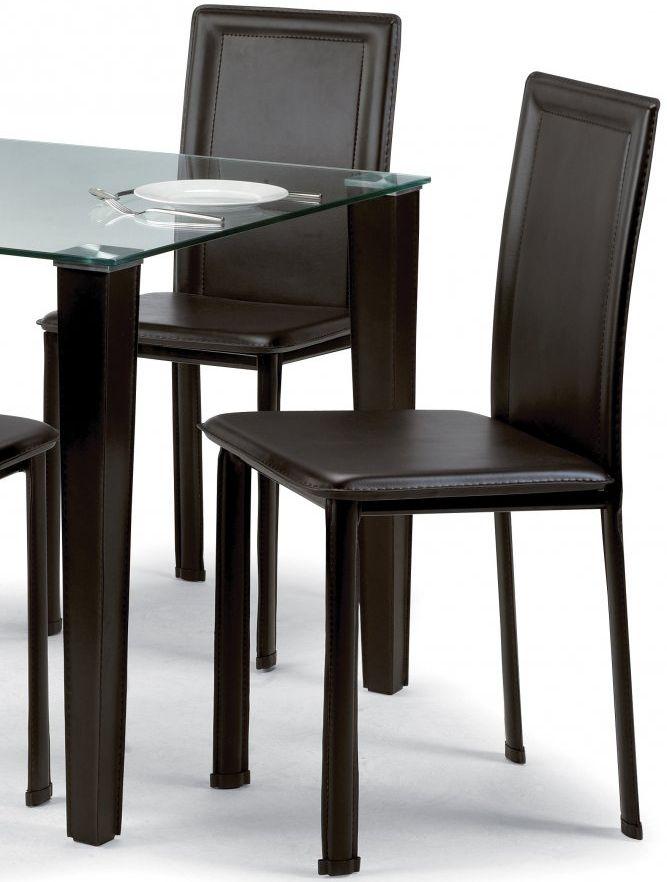 Julian Bowen Quattro Dining Chair (Pair)