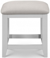 Julian Bowen Richmond Grey Painted Dressing Stool