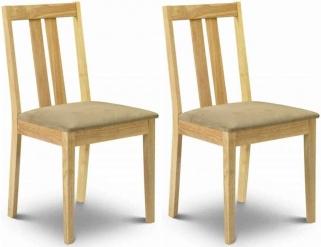 Julian Bowen Rufford Dining Chair (Pair)