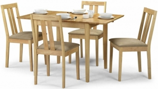 Julian Bowen Rufford Dining Set - Extending with 4 Chairs
