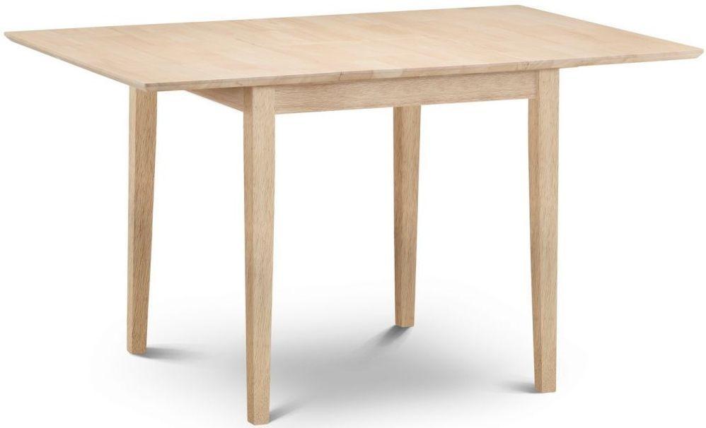 Julian Bowen Rufford Dining Table - 80cm-120cm Rectangular Extending
