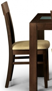 Julian Bowen Santiago Wenge Dining Chair (Pair)