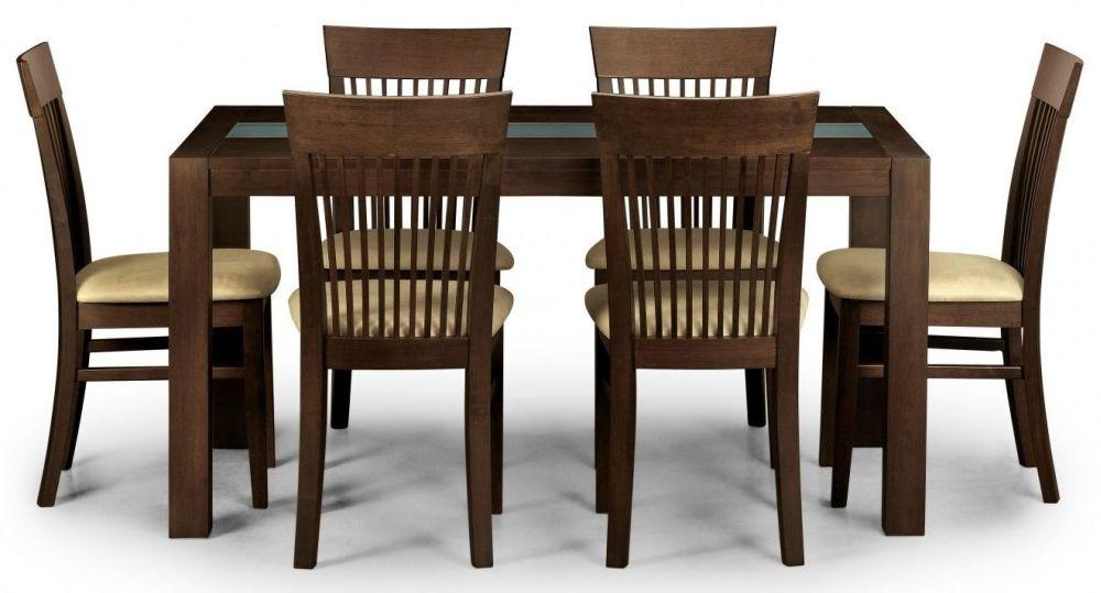 Julian Bowen Santiago Wenge Dining Table