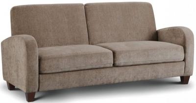 Julian Bowen Vivo Mink Chenille 3 Seater Sofa